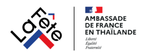 French Embassy Thailand logo